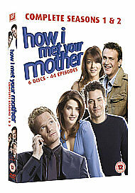How I Met Your Mother Series 1 & 2 DVD 2010 6 Disc Set Box Set