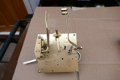 Kieninger westminster chiming clock movement - spares or repair - see details.