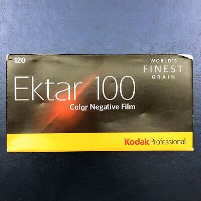 Kodak Ektar 100 films, 120 type, expired 09/2019, C-41 lot of 4x