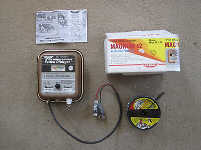 Parker McCrory Parmak MAG12UO Magnum 12 30 Mile Battery Operated Fence Charger