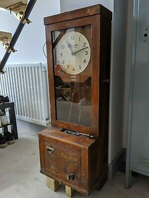 Gledhill Brook time recorder from Rolls Royce - Mains powered.