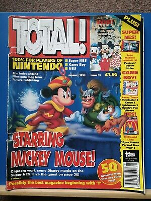 Total Nintendo MAGAZINE - Issue 13 - Jan 1993 - Mickey Mouse