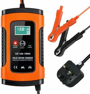 Car Battery Charger Maintainer 6V 12V 5A Smart Intelligent Charge Automatic DIY