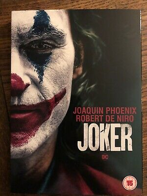 joker dvd 2019 joaquin phoenix - Sealed, Unused And Includes Slipcover