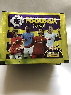 49 Unopened Packets Panini Premier League 2020 Football Stickers