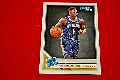 2019/20 Panini Donruss Zion Williamson Rated Rookie    New Orleans Pelicans