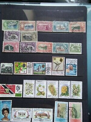 British Commonwealth Stamps Collection. 6 Pages (Please See All Photos)
