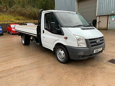 Ford Transit 2.4TDCi 350 LWB 13ft Dropside flatbed Tel lee 07780 161585