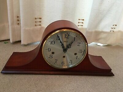 Vintage Hermle Triple Chime Mantle Clock in very good condition