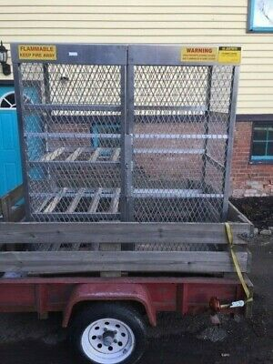 Justrite  Storage Locker Combo for Propane or other Gas Cylinder / Tank LPG