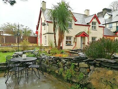 Details of a 4 bed detached cottage in the Conwy valley.