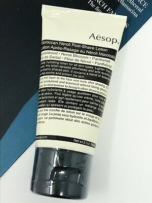 AESOP Moroccan Neroli Post-Shave Lotion 60ml NEW SEALED