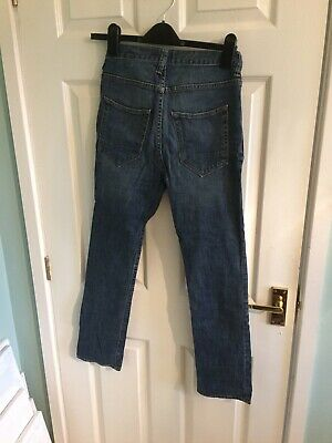 Gap Boys Dark Blue Denim Slouchy Skinny Jeans Age 13