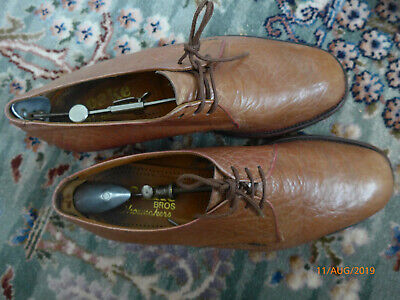 """Retro """"Loake"""" Last Made Shoes - Goodyear Welted  Sole-Textured Upper-  9 Uk"""
