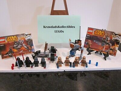 Lego Star Wars 75079 75089 Geonosis Shadow Troopers, Expanded Universe, Complete