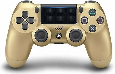 Brand New Genuine Sony Playstation 4 DualShock 4 V2 Wireless Controller Gold PS4