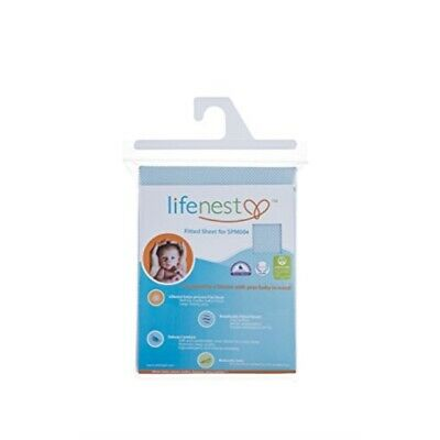 Ubimed Breathable Fitted Sheet for Lifenest, Blue