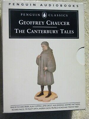 Geoffrey Chaucer: The Canterbury Tales (Audio Cassettes)