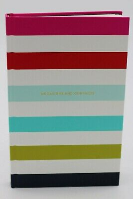 Kate Spade Stripes Address Book