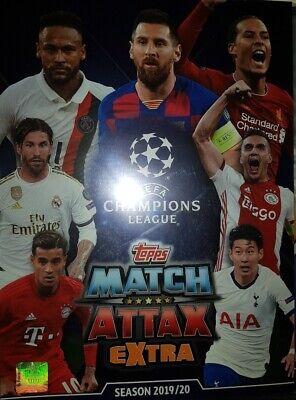 Match Attax Champions League 19 20 EXTRA limited edition  Club 100 Hero etc.