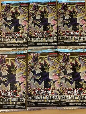 Yugioh Legendary Duelists Magical Hero Booster Pack x6 Rare! Hard to find!