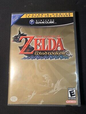 Legend Of Zelda: The Wind Waker Nintendo Gamecube *Tested* (Complete)
