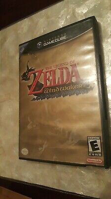 Legend of Zelda: The Wind Waker (GameCube, 2003) No Booklet