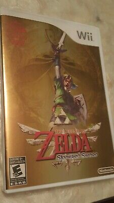 Legend of Zelda Skyward Sword (Nintendo Wii) 25th Anniversary Limited Edition