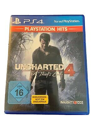 UNCHARTED 4 a thief's end - PS 4