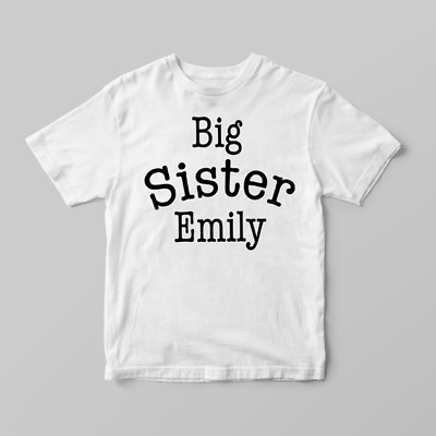I/'m Going To Be A Big Sister Girls Announcement Childrens Kids T-Shirt Top 560