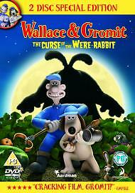 Wallace and Gromit: The Curse of the Were-rabbit DVD (2006) Nick Park cert U