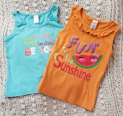 2 Little Girl's Sz.8 Gymboree Tank Tops