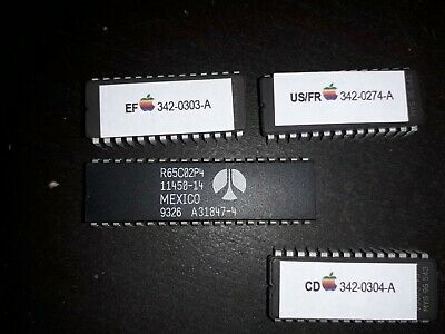 Apple IIe Enhancement Kit For Apple ////e upgrade A2M2052 UK,US,German or French