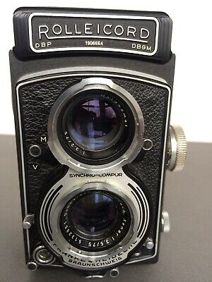 Rolleicord Camera Xenar 7.5cm F/3.5 Very good condition.