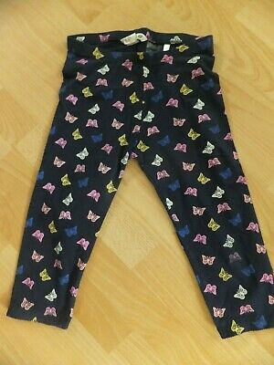 Girls cropped leggings.  Age 8-9 years.  From H&M.