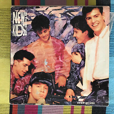 New Kids On The Block - Step By Step - Lp Cbs Spain 1990