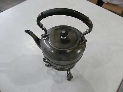 Ornate James Dixon & Sons Silver Plated Tea Pot Circa 1800'S To Early 1900'S