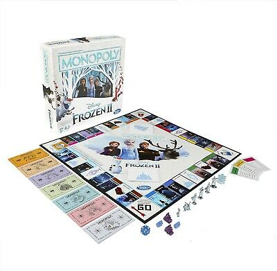 Monopoly Disney Frozen 2 Limited Special Edition Board Game for Ages 8 +