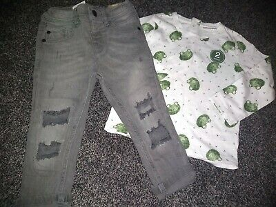 Boys BNWT Top & Jeans 18-24 Months NEXT