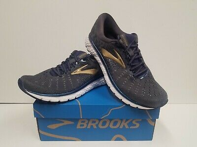 Brooks Mens Glycerin 17 Road Running Shoes Black//Iridescent 11.5D