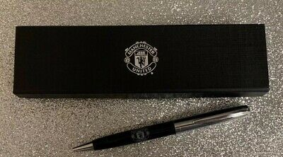 Manchester United Official Club Pen Set With Case.Brand New