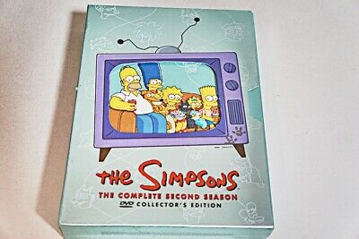 The Simpsons The Complete Second Season Collectors Edition Dvd