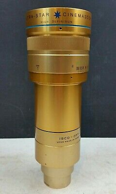 Isco Optic Ultra Star Cinemascope Projector Lens Ultra MC HD 2/90mm Projection