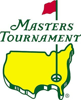 (2) 2020 Masters Golf Tickets - Monday April 6Th Practice Round