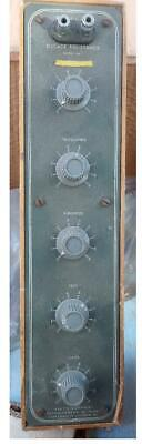 Heathkit Decade Resistance Box Dr-1  Good Condition