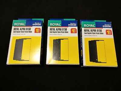 3 Pack Royal 480NX 480 NX 482CX 482 CX 482NT 482 NT Register Ribbon Purple