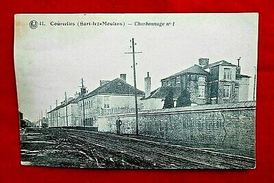 Cpa vue Courcelles - Charbonnage n°1