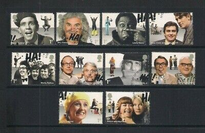 GB used stamps - 2015 Comedy Greats, fine used, ex FDC (see description)