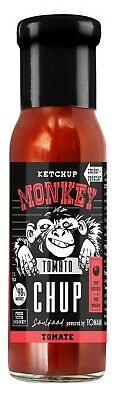 (100ml €1,60) Ketchup Monkey Tomato-CHUP 240ml das Original Neu!