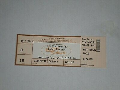 Leon Russell 1976 Concert Ticket Stub 9 Tennessee 1976 in Knoxville Vintage Ticket Stub from The Civic Coliseum Show Nov